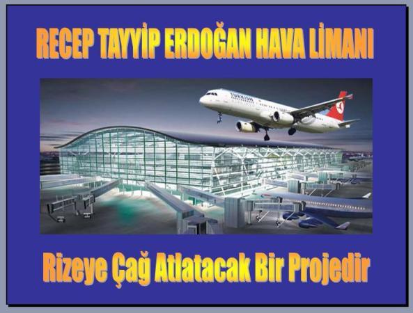 Rize Havaalanı İçin Ayakta