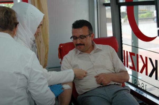 Polis Müdüründen Rekor Kan Bağışı