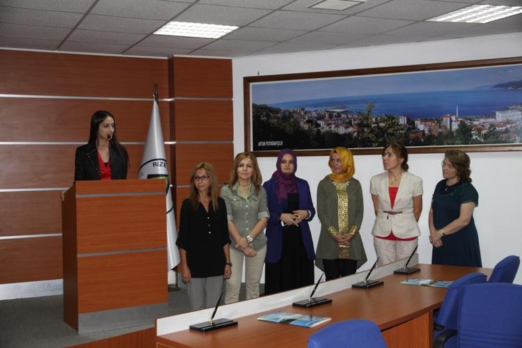 Rize Kent Konseyi Kadın Meclisinde Yeni Dönem