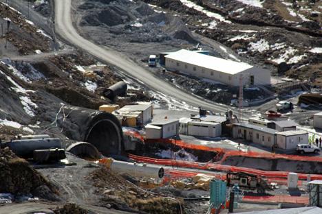 Ovit Tüneli İnşaatında Çalışmalar Yeniden Başladı
