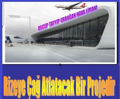 Rize Uluslar Arası Hava Limanı Öncelikli Yatırım Programına Alındı