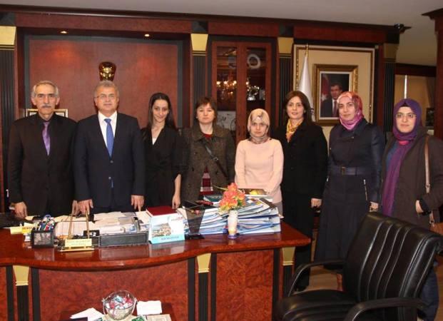 Kent Konseyi'nden Başkan Kasap'a Ziyaret