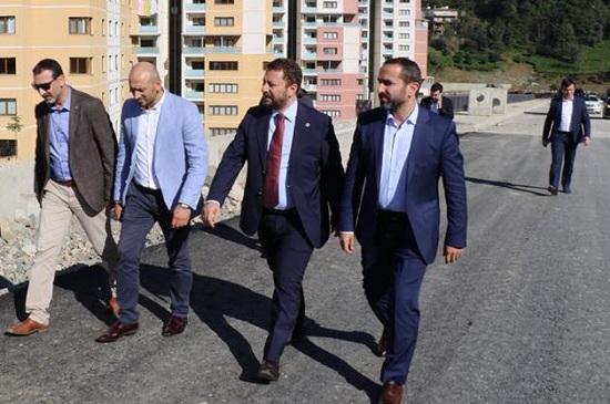 """AVCI """" ÇEVRE YOLU YIL SONUNDA BİTİYOR"""""""