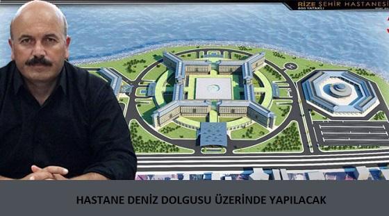 """""""RİZE ŞEHİR HASTANESİ İLE İLGİLİ BİR SIKINTI YOK"""""""