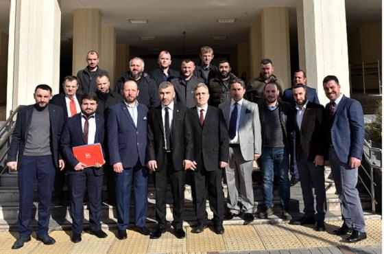 Yeniden Refah Partisi Rize Merkez İlçe kuruldu.