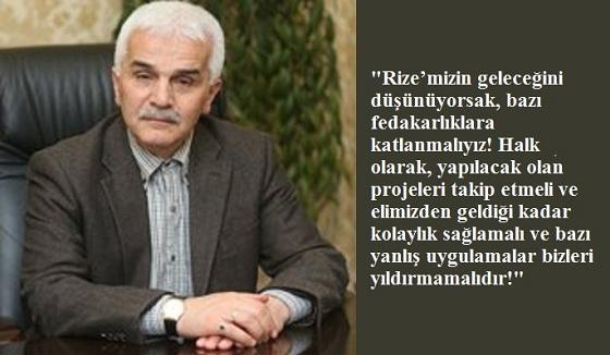 RİZE'MİZDE IŞIK YEŞİLE DÖNÜYOR!