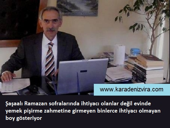 PARASI ESNAFTAN ALINAN GÖSTERİŞ SOFRALARI!