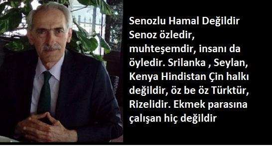 SENOZ'LU HAMAL DEĞİLDİR!