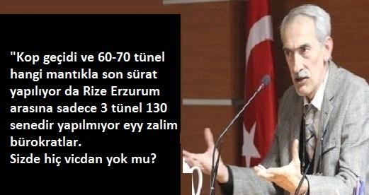 OVİT TÜNELİNİ TOPRAKLA DOLDURALIM!