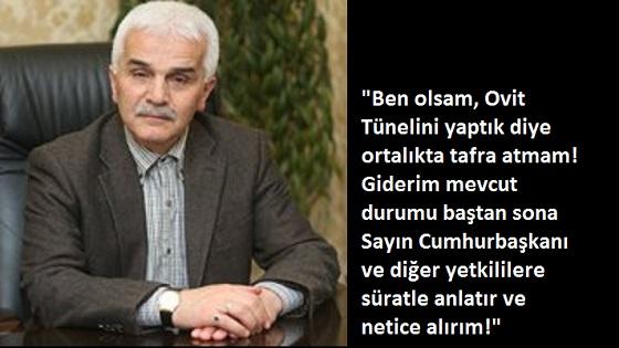 RİZE – İSPİR TÜNELİ (!!!)