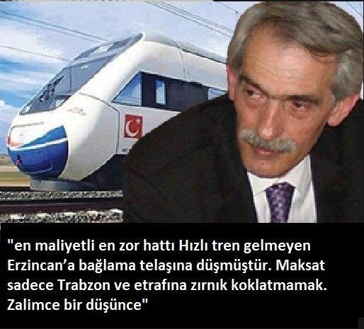HIZLI TRENDEN KARADENİZ'İ MAHRUM BIRAKMAYIN