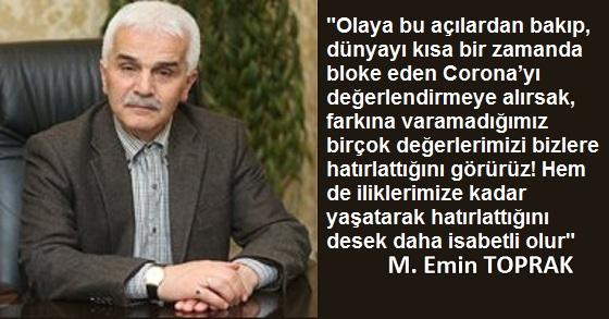 CORONA'NIN HATIRLATTIĞI NİMETLER!
