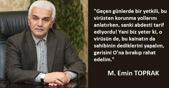 KORONAVİRÜS'ÜN ANLATMAK İSTEDİKLERİ!!!