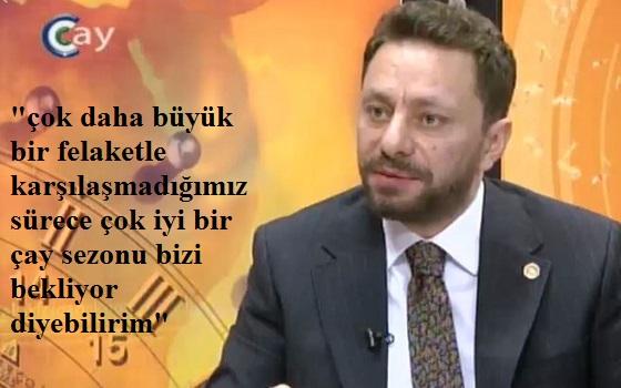 AVCI ÇAY TV'DE ÖNEMLİ AÇIKLAMALAR YAPTI