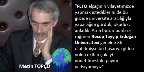 RTEÜ'Nİ TEBRİK EDERİM
